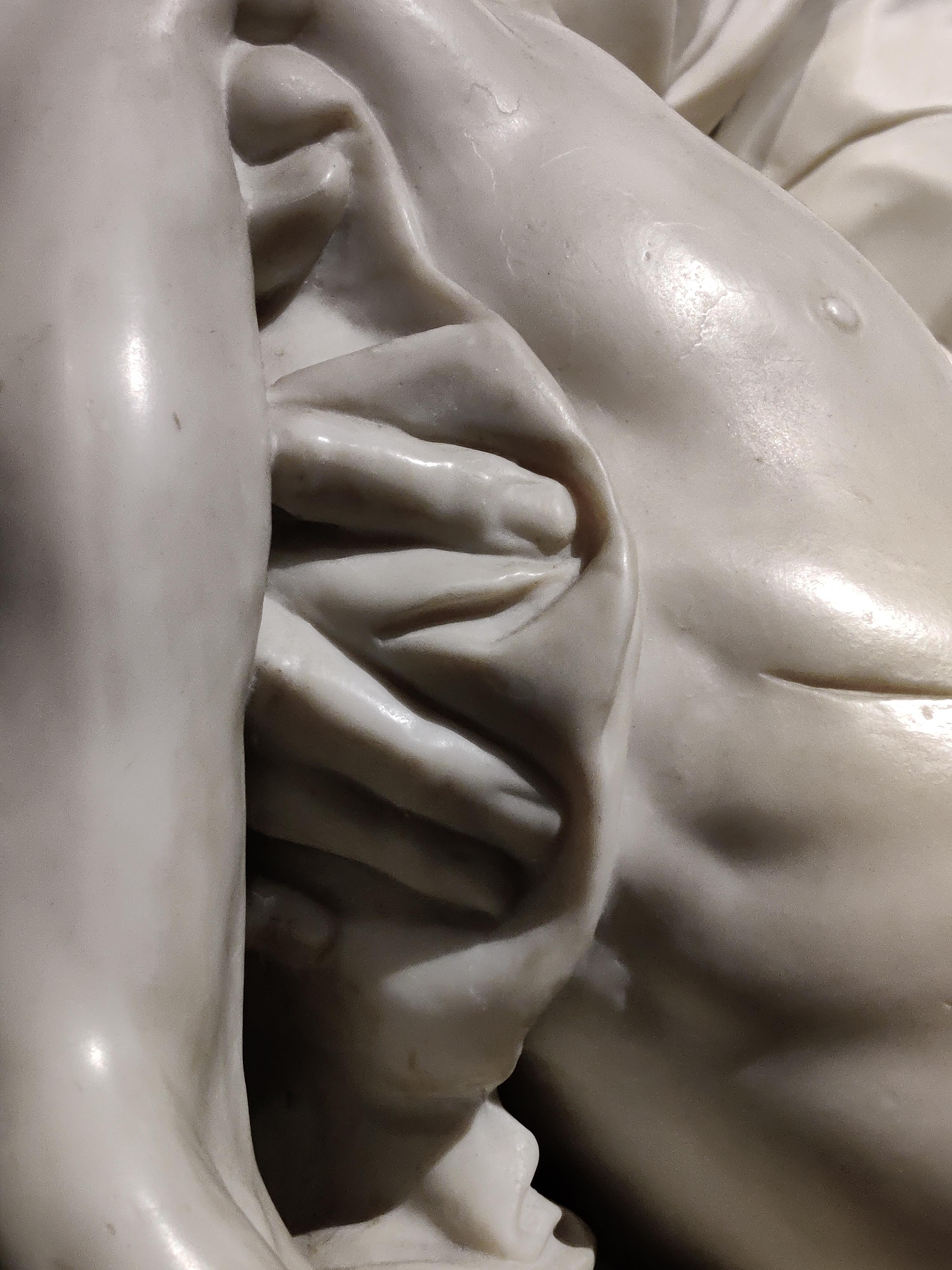 Копия скульптуры позволяет обойти ее и рассмотреть со всех ракурсов