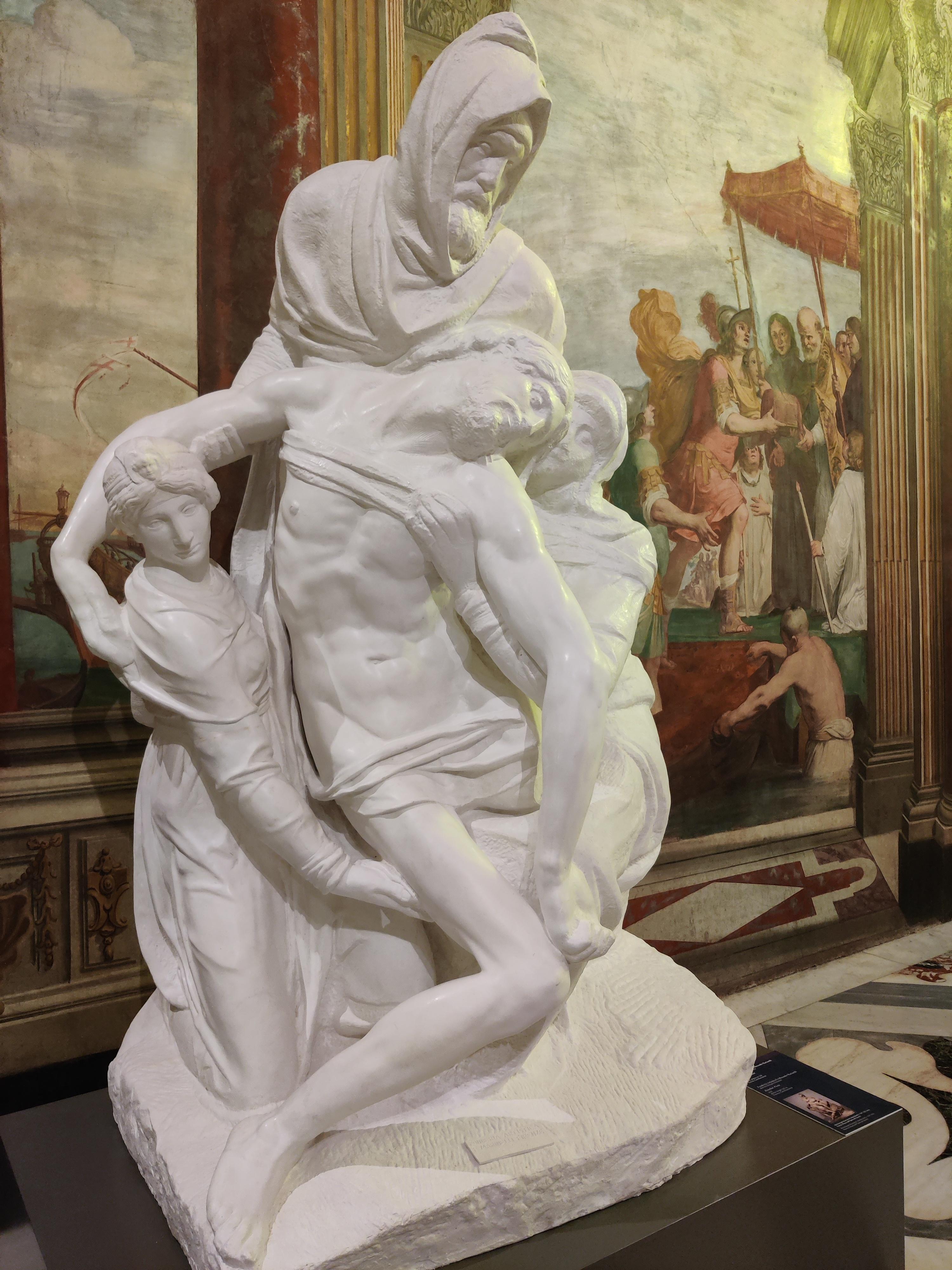 Пьета Бондини, 1547-1555