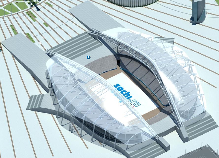 Центральный стадион, Сочи