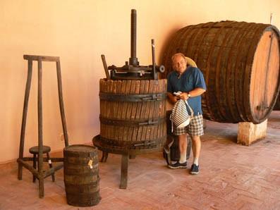 Идея винного путешествия – это и называется винный туризм