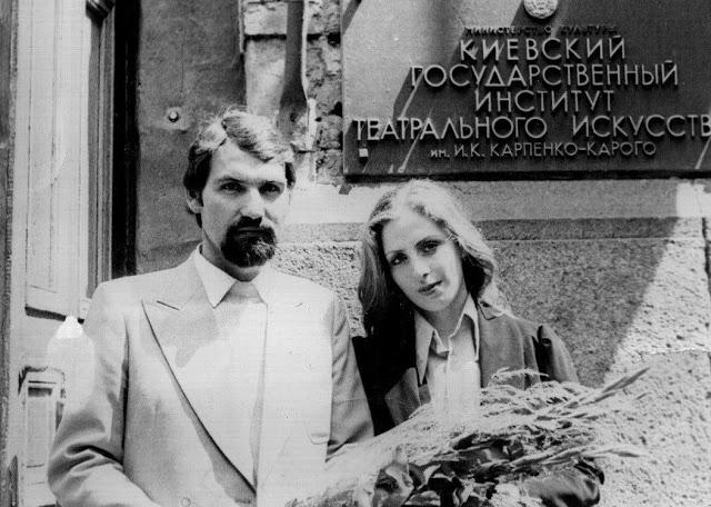 Киев, конец семидесятых прошлого века... Встреча у театрального вуза