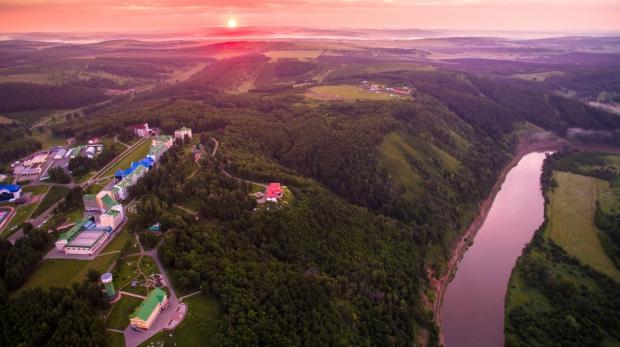 """Курорт """"Янган-Тау"""" на Горящей горе"""