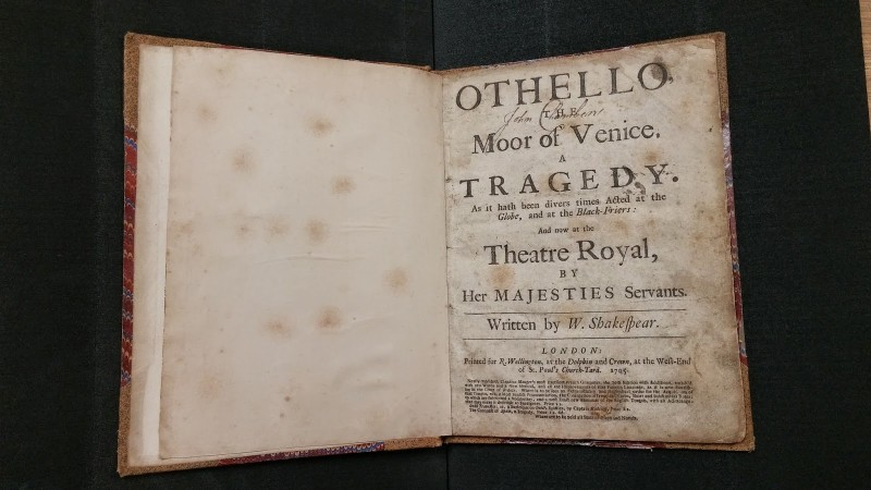term papers on othello Othello: essay topics 1) some have said that the focus of othello is not the title character, as is the case with shakespeare's other great.