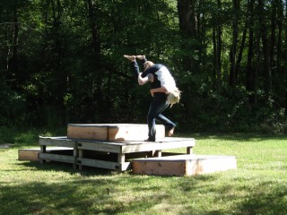 Wife Carrying at Scanfest 2010