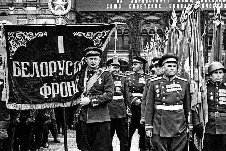 парад победы фото