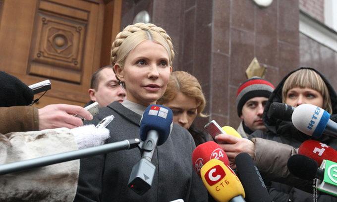 тимошенко украина новости
