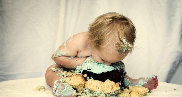 Фото дети и торты