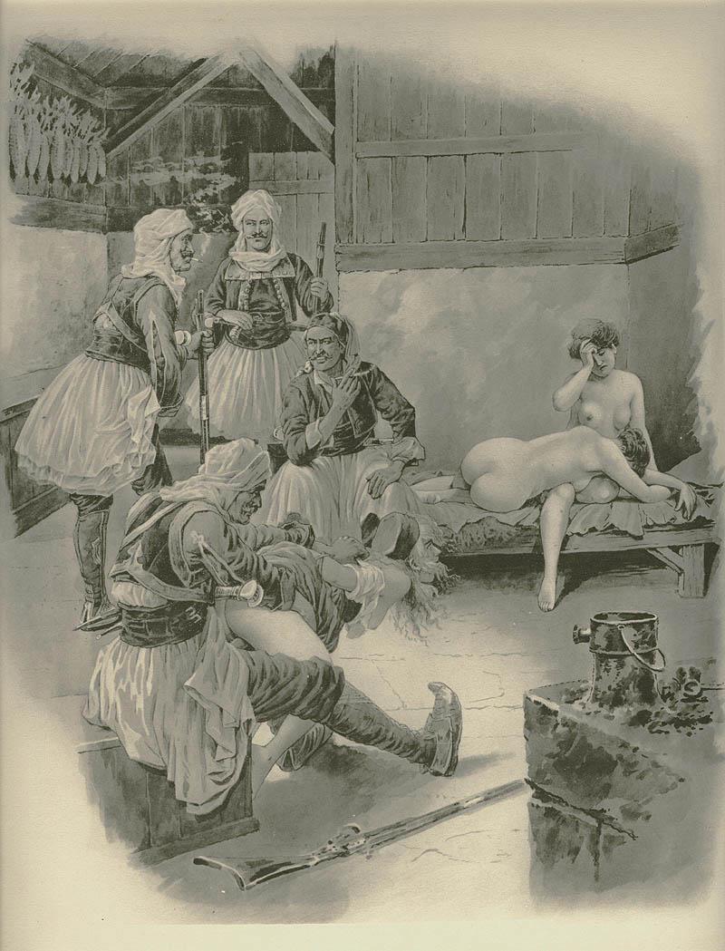 Эротические рисунки прошлого века 8