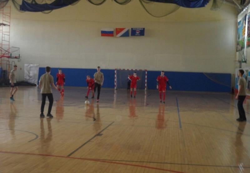 Матч команд 3-й школы и ЦРТДЮ.