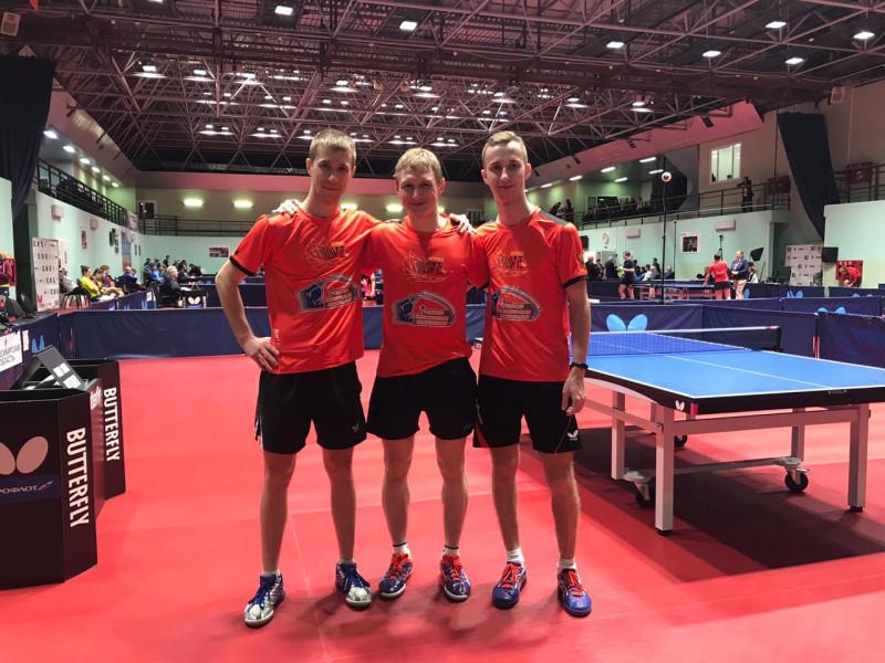 Андрей Букин, Михаил Бутылев и Егор Тимин (слева - направо). Фото предоставлено Михаилом Бутылевым.