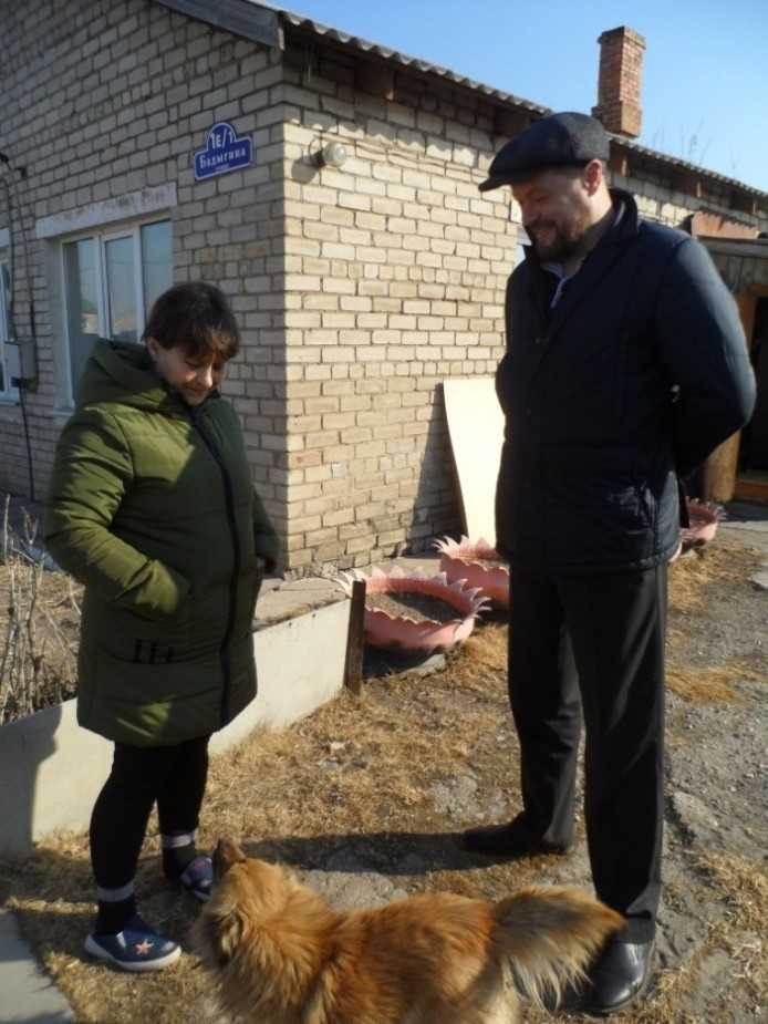 Елена Юрьевна и Сергей Точеный.