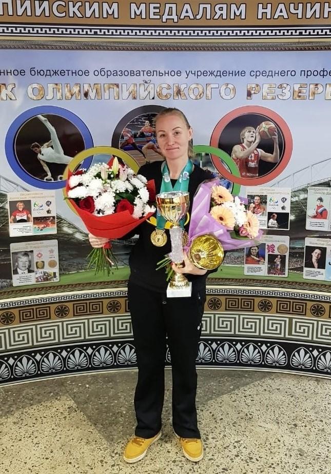 На чемпионате России в Москве, 2019 год. Эта и все следующие фотографии предоставлены Светланой Крекиной.