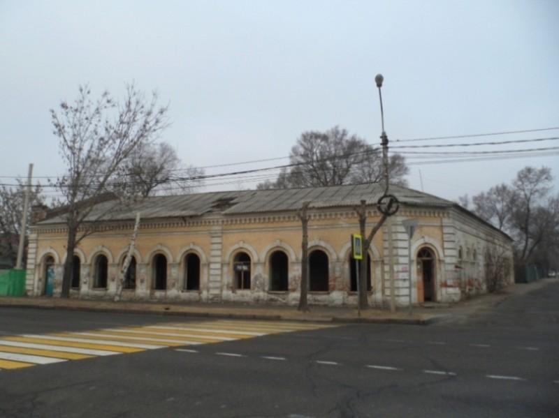 Нынешнее состояние указанного выше дома Хоменко. Об этот здании у меня недавно был отдельный пост. Фото - Винокуров Р.С.