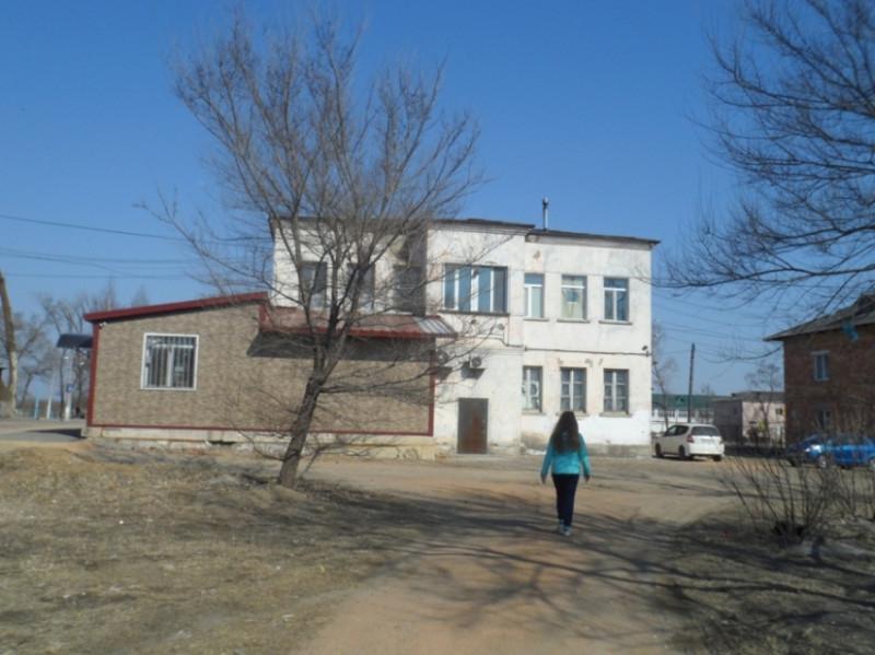 Магазин предпринимателя Светланы Козленко с обратной стороны.