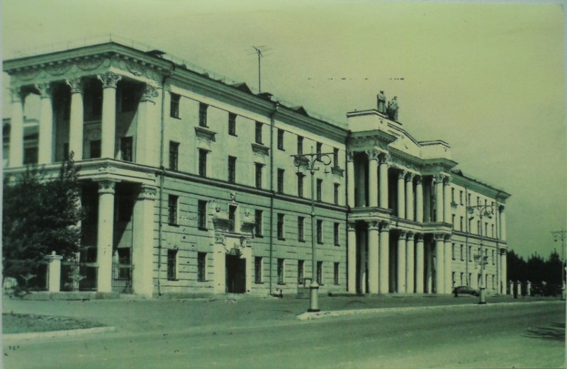 Дом офицеров советской армии, 1963 год. Фото предоставлено Анатолием Щиголем.