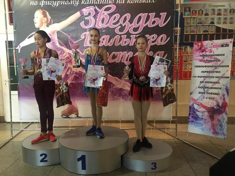 Бронзовый призер соревнований Ксения Огородова, фото Татьяны Крештель.