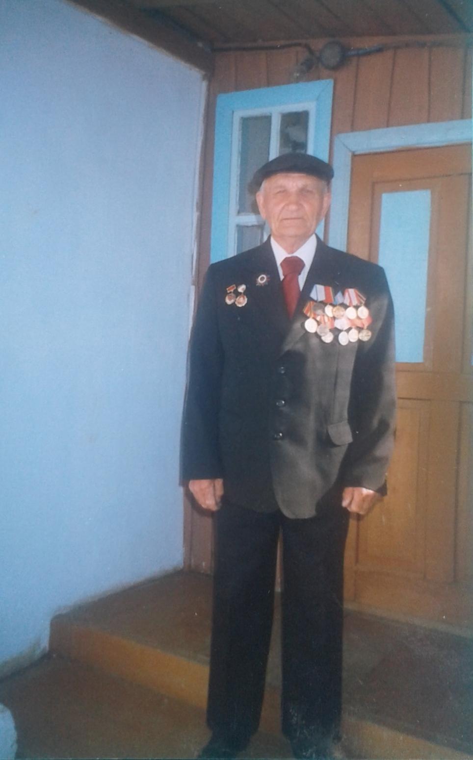 Григорий Емец в селе Майское Ханкайского района. Фото из личного архива Григория Емца.