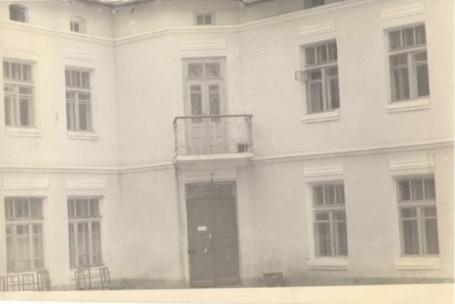 Здание культпросветучилища, 1960 год.