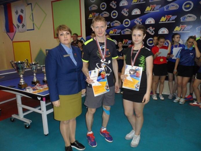 Полина Жохова и Михаил Бутылев.