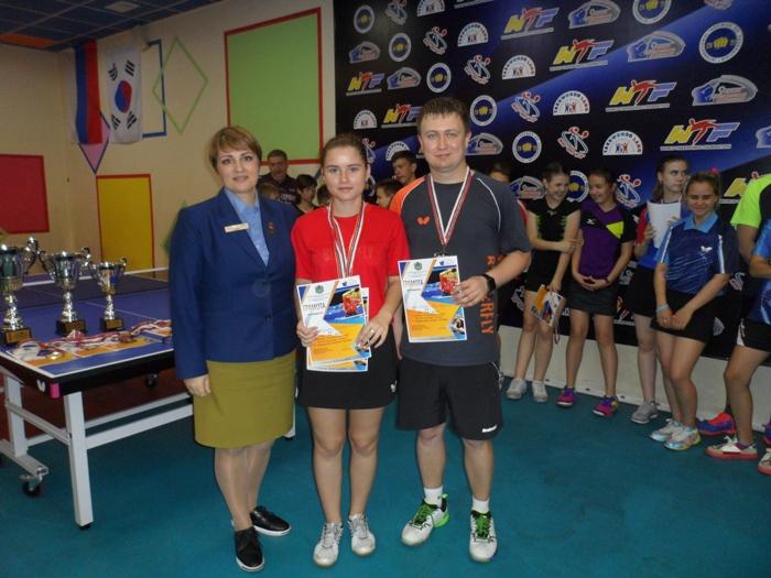 Анна Кузьменко и Дмитрий Алмазов.