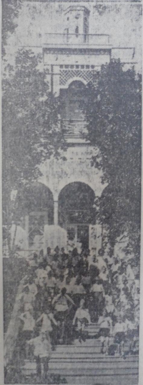 Главный павильон-солярий, 1975 год.