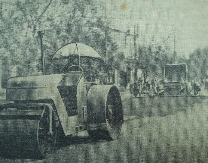"""Газета """"Коммунар"""", фото - Е. Абезгауз, 1954 год."""