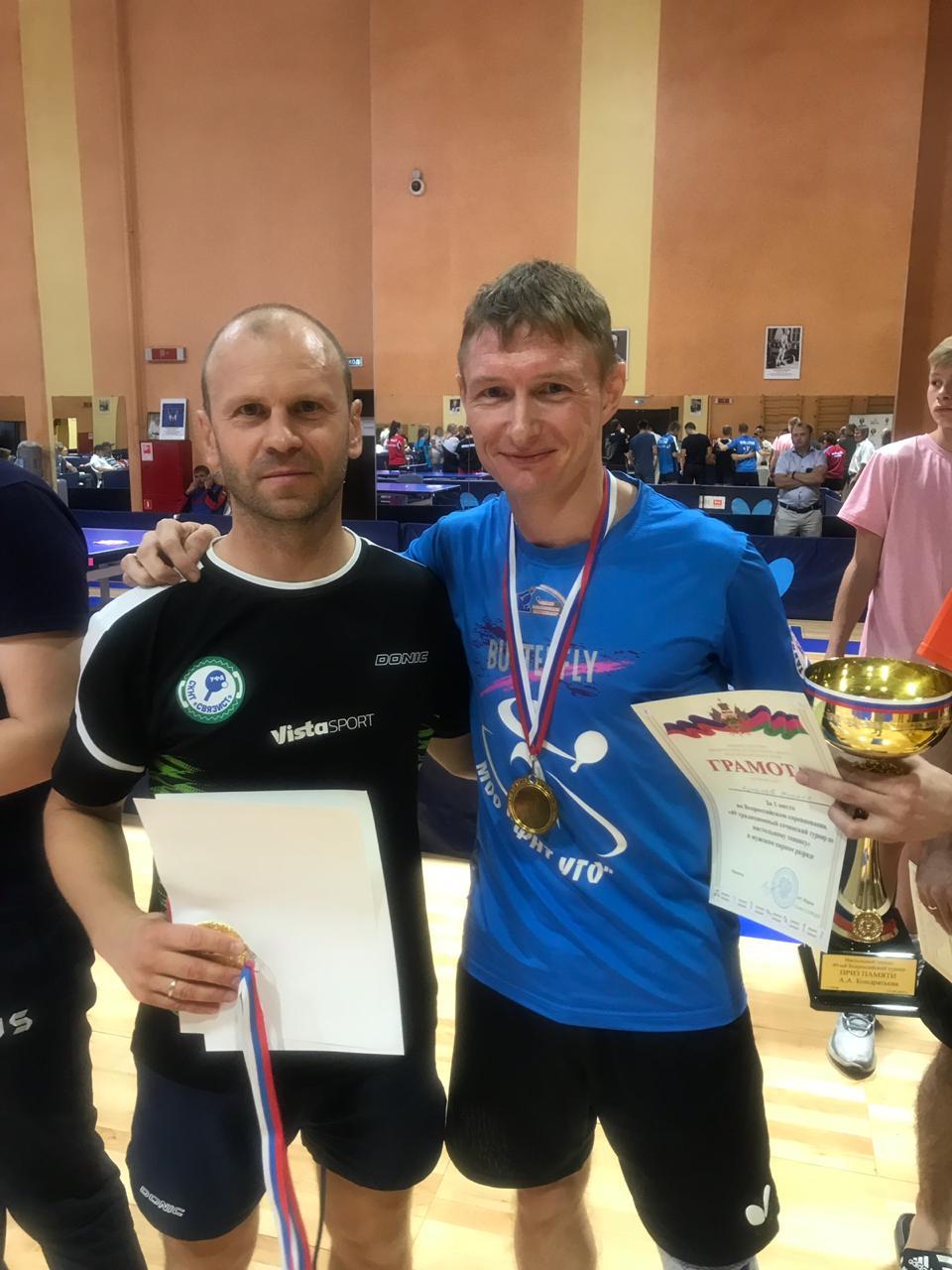 Михаил Бутылев (справа) и Денис Гаврилов. Эта и все следующие фотографии предоставлены Михаилом Бутылевым.