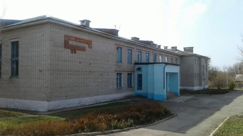Школа села Владимировка.