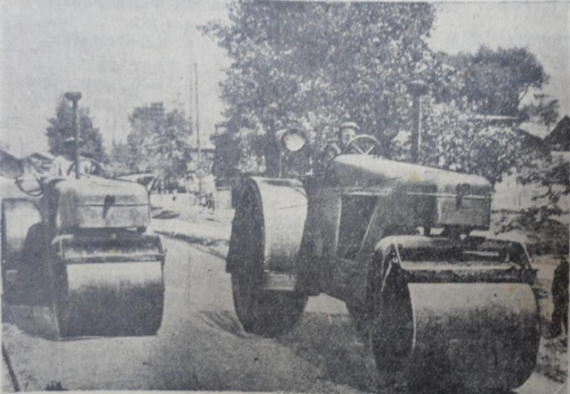 """Улица Краснознаменная, 1955 год, фото - газета """"Коммунар""""."""