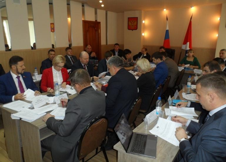 Заседание Думы УГО 26 ноября.