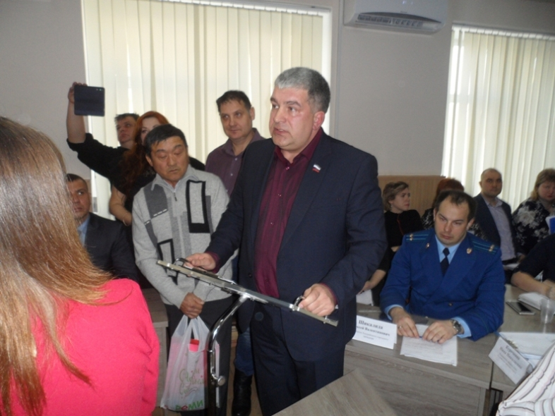 Выступление Александра Лукьяненко на заседании Думы УГО 16 декабря.