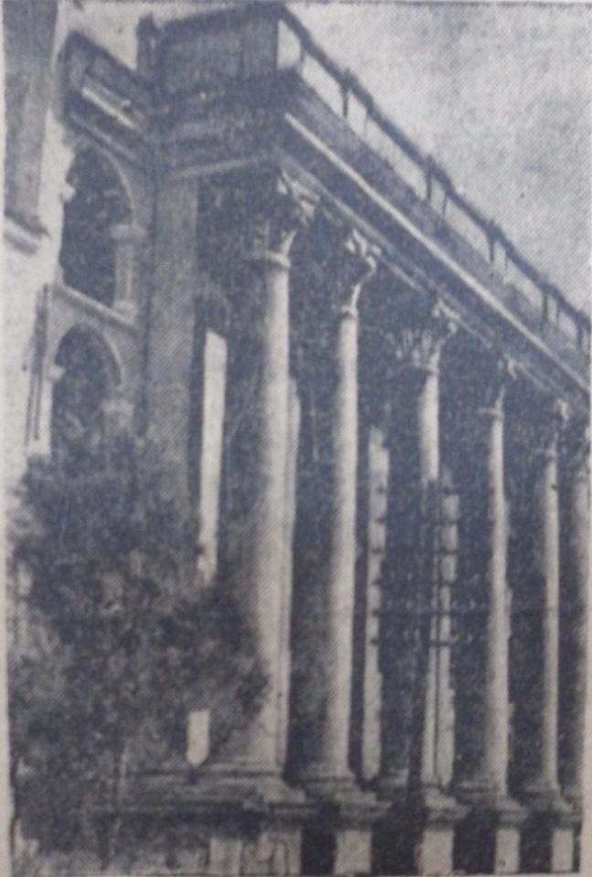 Фото Е. Абезгауза, сентябрь 1948 года.