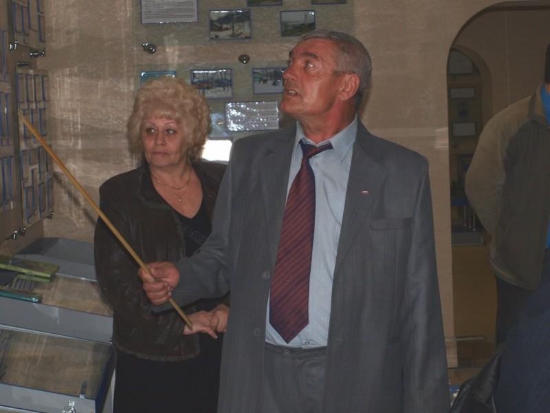 Бывший многолетний работник Уссурийского ЛРЗ Наталья Курманенко и Николай Тимохов.