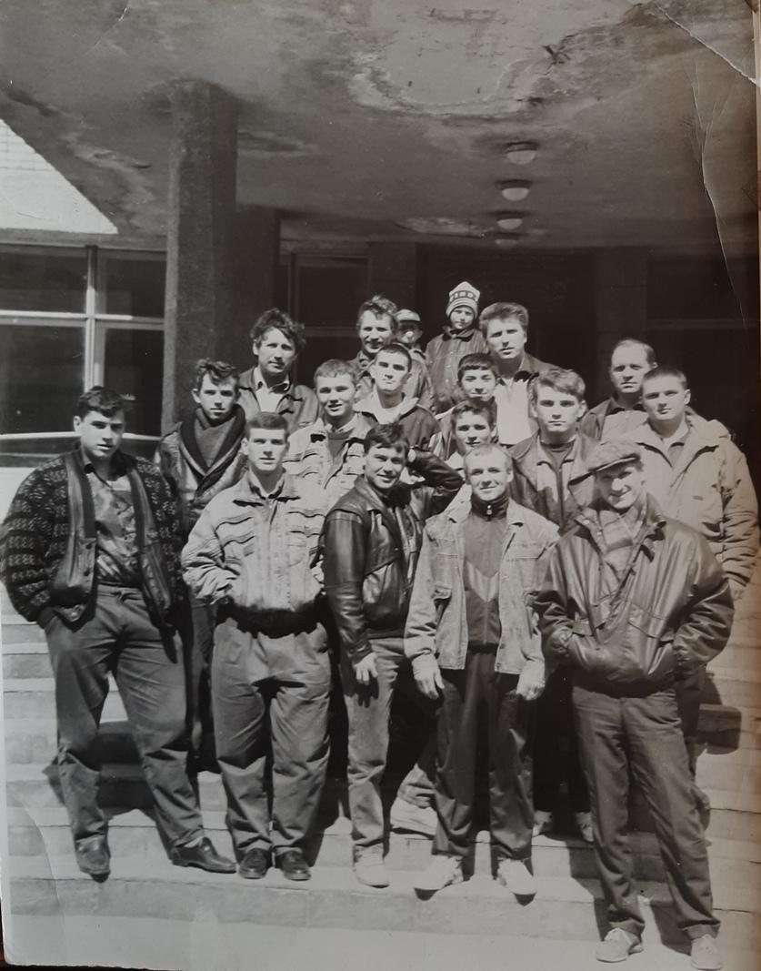 Чемпионат Приморского края, Арсеньев, 1993 год.