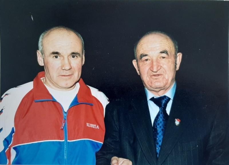 С Русланом Хабисовым.