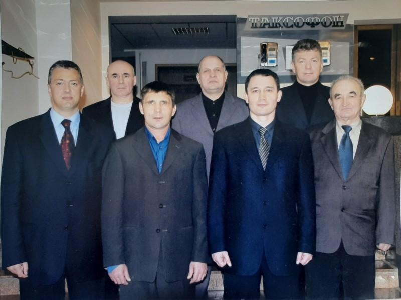 Образование федерации бокса г. Уссурийска, ноябрь 2000 года.
