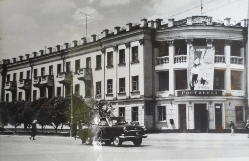 Фото предоставлено Валерием Соломенным, 1960-е годы.