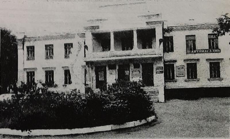 Здание, где ранее располагался Ушосдор.