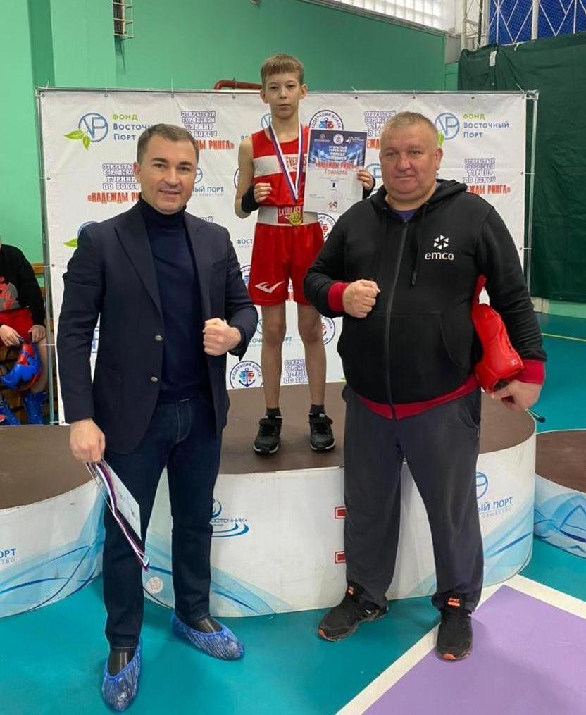 Фотографии предоставлены федерацией бокса Уссурийского городского округа.