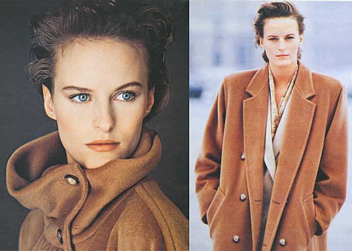 Max Mara осень-зима 1987 и осень-зима 1988