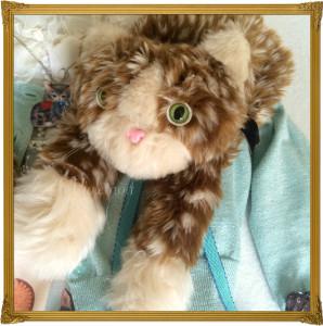 f cat biscuit scarf