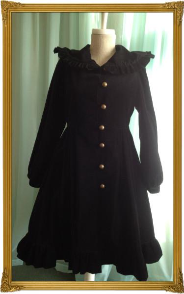 f velvet coat
