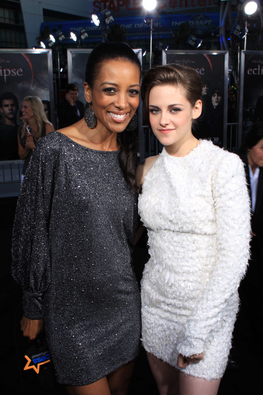 Kristen and Shaun Robinson at the Eclipse Premiere in LA