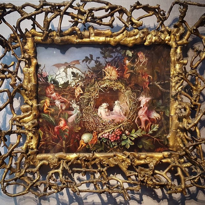 Resize of kb-Fitzgerald-JA-Fairies-in-a-Nest._with framejpg