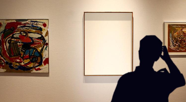 Missing Painting Illustration