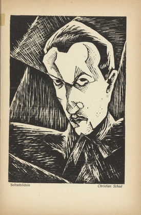 woodcut- Self-Portrait