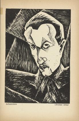 woodcut- Self-Portrait