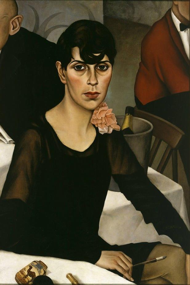 Resize of Christian Schad, Sonja (1928)