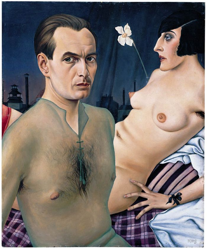 Christian Schad. Autoportrate 1929