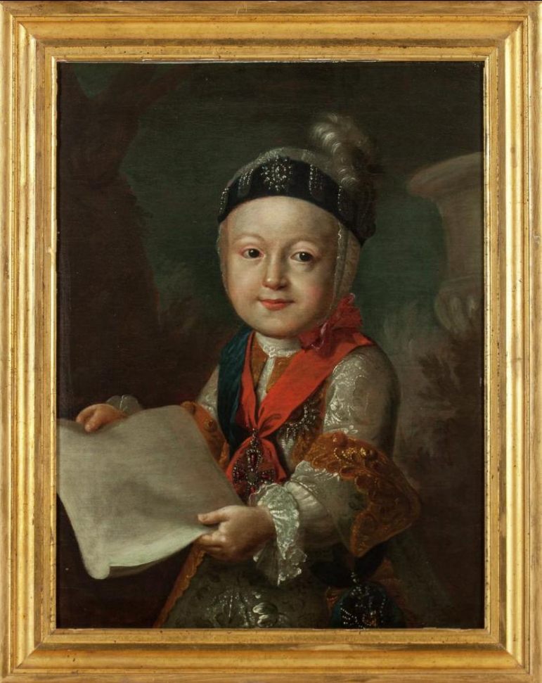 Paul I as a Child